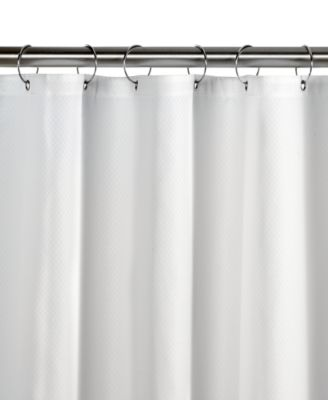 Charter Club Diamond Fabric Shower Curtain Liner, Created For Macyu0027s
