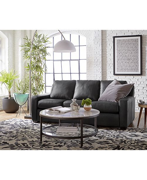 Furniture Lisben Leather Sofa Collection