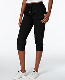 Calvin Klein Performance Commuter Active Strech Woven Capri Pants