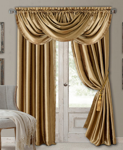 Elrene Versailles Faux Silk Room Darkening Window Collection - Elrene Versailles Faux Silk Room Darkening Window Collection