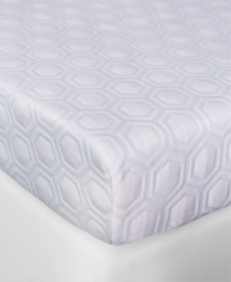 "Luxury iCOOL 4.5"" Gel-Infused Memory Foam King Mattress Topper"