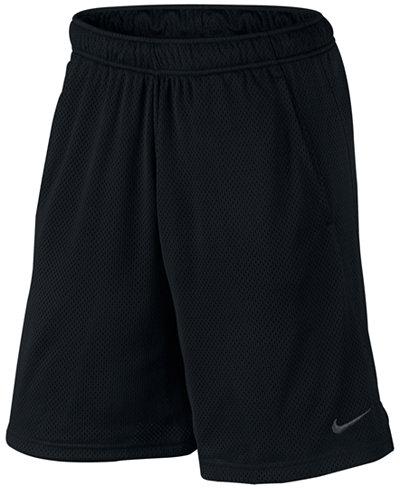 nike men 39 s 9 dri fit mesh training shorts shorts men. Black Bedroom Furniture Sets. Home Design Ideas