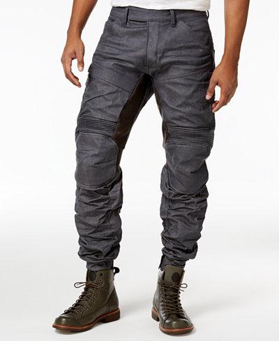 star raw men 39 s motion 3d tapered jeans jeans men macy 39 s. Black Bedroom Furniture Sets. Home Design Ideas