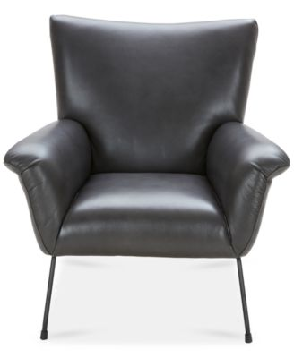Jenelle Leather Accent Chair