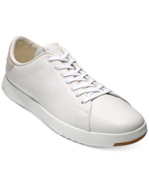 COLE HAAN Men'S Grandpro Tennis Sneaker Men'S Shoes in White