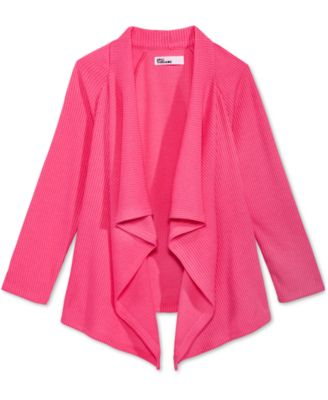 Image of Epic Threads Ribbed Open-Front Cardigan, Toddler & Little Girls (2T-6X), Only at Macy's