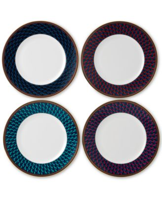 Byzance Collection 4-Pc. Accent Plate Set