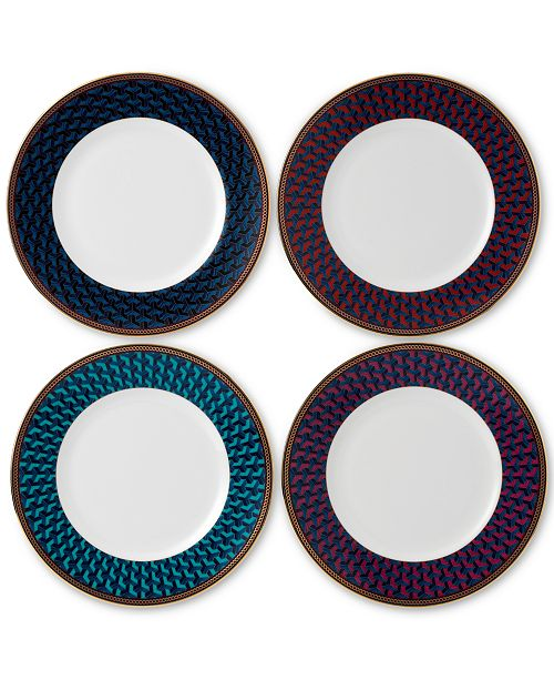 Wedgwood Byzance Collection 4-Pc. Accent Plate Set