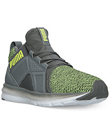 Puma Men's Enzo Knit Casual Sneakers from Finish Line
