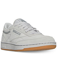 Reebok Big Boys'    Club C Casual Sneakers from Finish Line