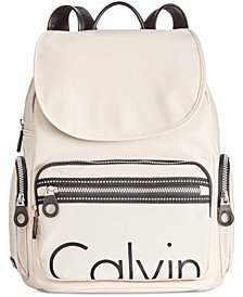 Calvin Klein Nylon Signature Backpack