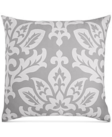 Charter Club Damask Designs Smoke European Sham, Created for Macy's