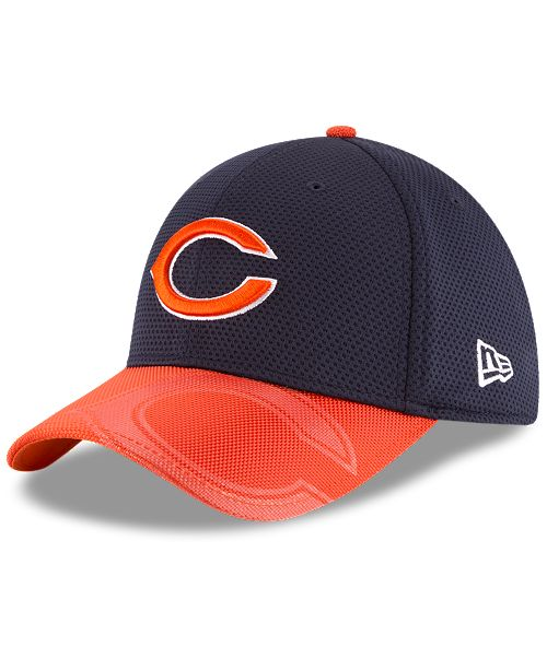 914cc0f0bd8 New Era. Chicago Bears Sideline 39THIRTY Cap. Be the first to Write a  Review. main image ...
