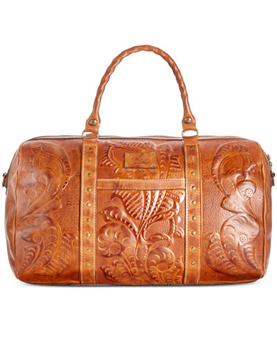 Patricia Nash Burnished Tooled Milano Weekender