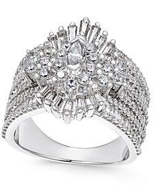 Diamond Cluster Ring (2-3/4 ct. t.w.) in 14k White Gold