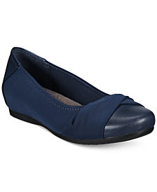 Bare Traps Mitsy Memory Foam Hidden Wedge Flats