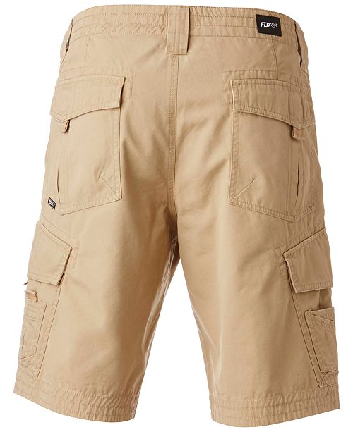 a00ef09adc Fox Men's Slambozo Classic-Fit Cotton Cargo Shorts & Reviews ...