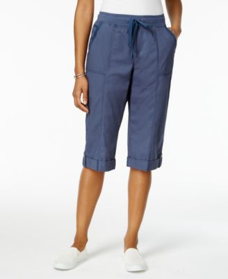 Image of Style & Co Drawstring-Waist Skimmer Shorts, Created for Macy's