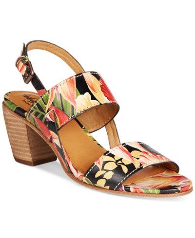 Patricia Nash Romana Block Heel Sandals