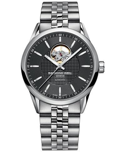 RAYMOND WEIL Men's Stainless Steel Bracelet Watch 2710-ST-20021