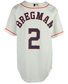 Alex Bregman Houston Astros Player Replica CB Jersey, Big Boys (8-20)