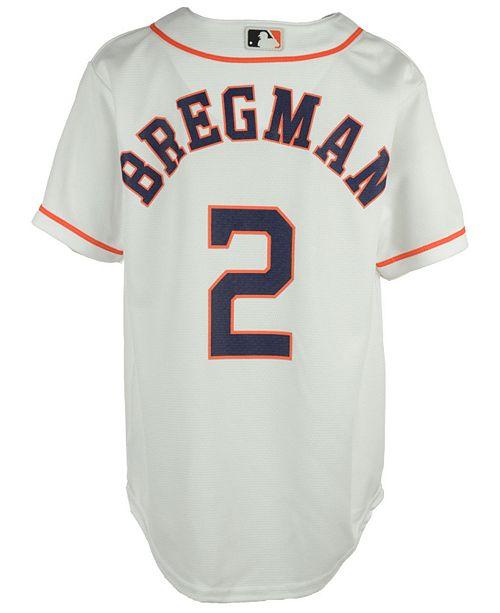 release date: 1fc97 11a1f Alex Bregman Houston Astros Player Replica CB Jersey, Big Boys (8-20)