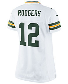 Nike Women's Aaron Rodgers Green Bay Packers Color Rush Limited Jersey