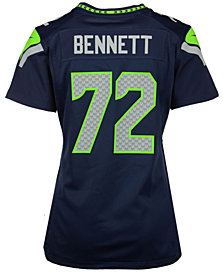 Nike Women's Michael Bennett Seattle Seahawks Game Jersey