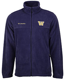 Columbia Men's Washington Huskies Flanker Full-Zip Jacket
