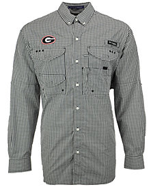 Columbia Men's Georgia Bulldogs Super Bonehead Long Sleeve Shirt
