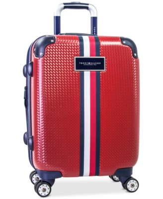 "Basketweave Hardside 21"" Spinner Suitcase"