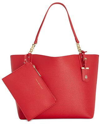 Tommy Hilfiger Reversible Gabby Double-Sided Tote