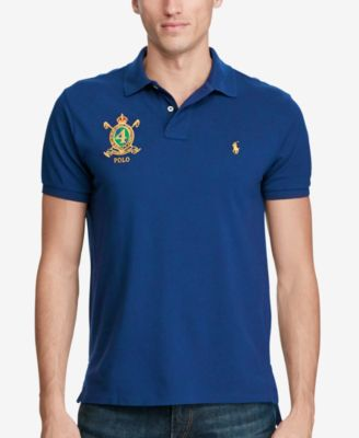 Image of Polo Ralph Lauren Men's Classic-Fit Featherweight Mesh Polo, Created for Macy's