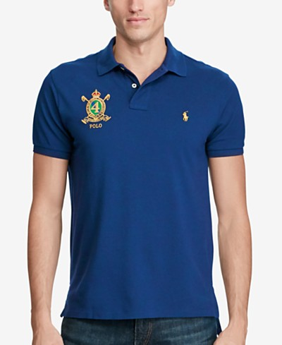 Polo Ralph Lauren Men's Classic-Fit Featherweight Mesh Polo, Created for Macy's