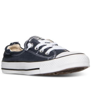 6cb3e94fedc4 ... Navy UPC 886951911073 product image for Converse Women s Chuck Taylor  Shoreline Ox Casual Sneakers from Finish Line