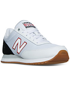 New Balance Men's 501 Gum Ripple Casual Sneakers from Finish Line