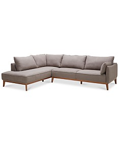 Gray Sectional Sofas & Couches - Macy\'s