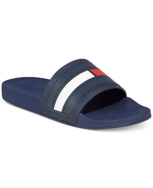 dedcec74 ... Tommy Hilfiger Men's Elwood Slide Sandals, Created for Macy's ...