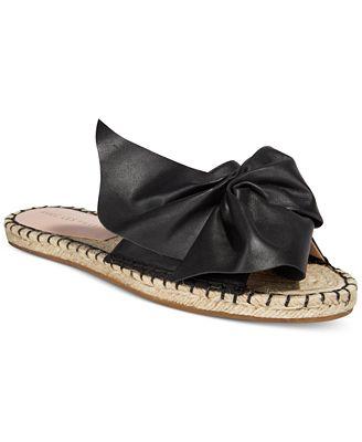 Avec Les Filles Gemma Slide Bow Sandals