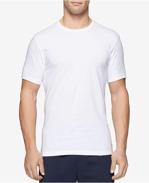3df5e3c4 Tommy Hilfiger Men's 3 Pack Slim Fit Cotton Crew Undershirts ...