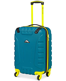"CLOSEOUT! High Sierra Braddock 20"" Carry-On Hardside Spinner Suitcase, Created for Macy's"