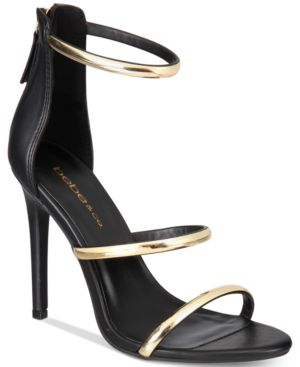 Image of bebe Berdine Ankle-Strap Dress Sandals Women's Shoes