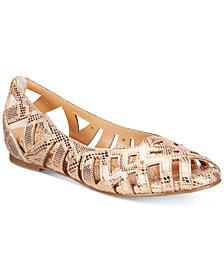 Thalia Sodi Zuly Huarache Ballet Flats, Created for Macy's