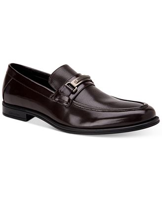 Calvin Klein Mens Bax Black - Loafers