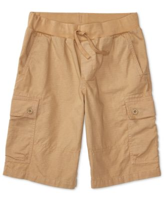 Image of Ralph Lauren Cotton Pull On Cargo Shorts, Big Boys (8-20)
