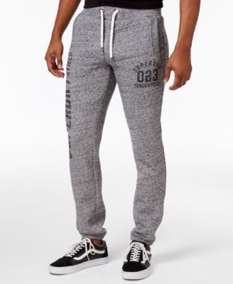 Image of Superdry Men's Trackster Graphic-Print Joggers