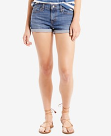 Womens Shorts & Capris from Levi's - Macy's