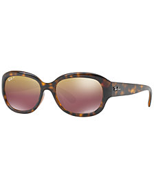 Ray-Ban Polarized Chromance Collection Sunglasses, RB4282CH 55