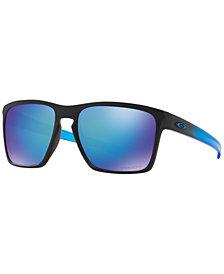Oakley Polarized Sliver XL Prizm Sapphire Sunglasses, OO9341 57