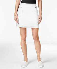 Style & Co Petite Pull-On Skort, Created for Macy's